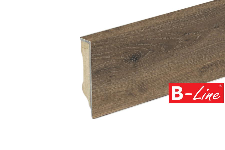 MDF Moduleo SELECT - lišta soklová Brio Oak 22877