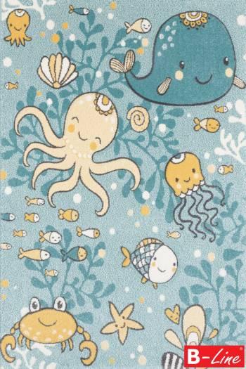 Kusový koberec Pastel Kids 47/KVK