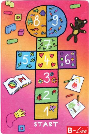 Detský kusový koberec Skákací panák