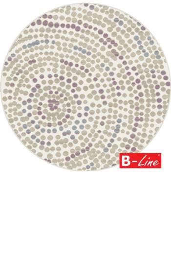 Kusový koberec Boho 04/VBV/kruh