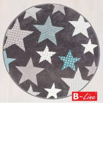 Kusový koberec Pastel Kids 49/GSG/kruh