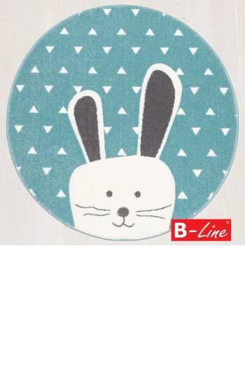 Kusový koberec Pastel Kids 52/KVK/kruh