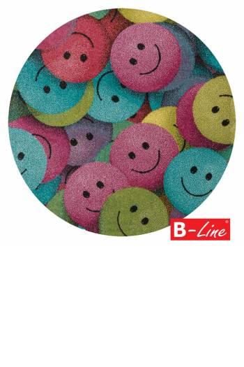 Kusový koberec Play 91/PMP/kruh