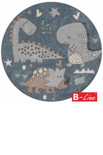 Kusový koberec Roma Kids 20/KAK/kruh