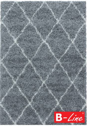 Kusový koberec Alvor Shaggy 3401 Grey