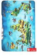 Detský kusový koberec World Map