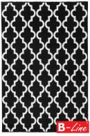 Kusový koberec Black & White 391 Black