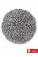 Kusový koberec Funky 300 Silver/kruh