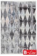 Kusový koberec Laos 460 Silver