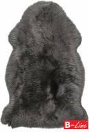 Kusový koberec Premium Sheep 100 Coal/kožušina
