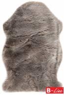 Kusový koberec Samba 495 Taupe/kožušina
